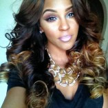 Brazilian body wave ombre